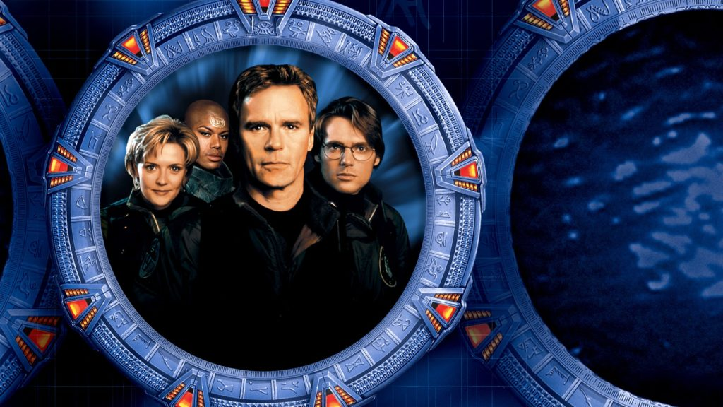 Stargate SG-1 Full HD Background