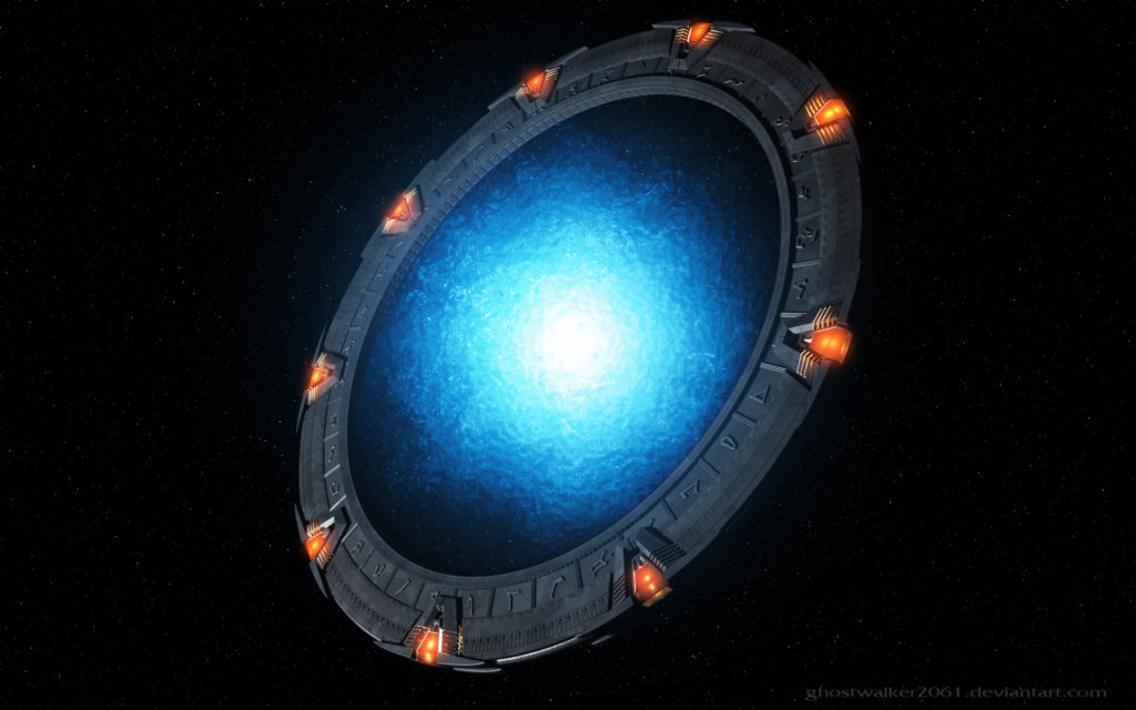 Stargate SG-1 Widescreen Background