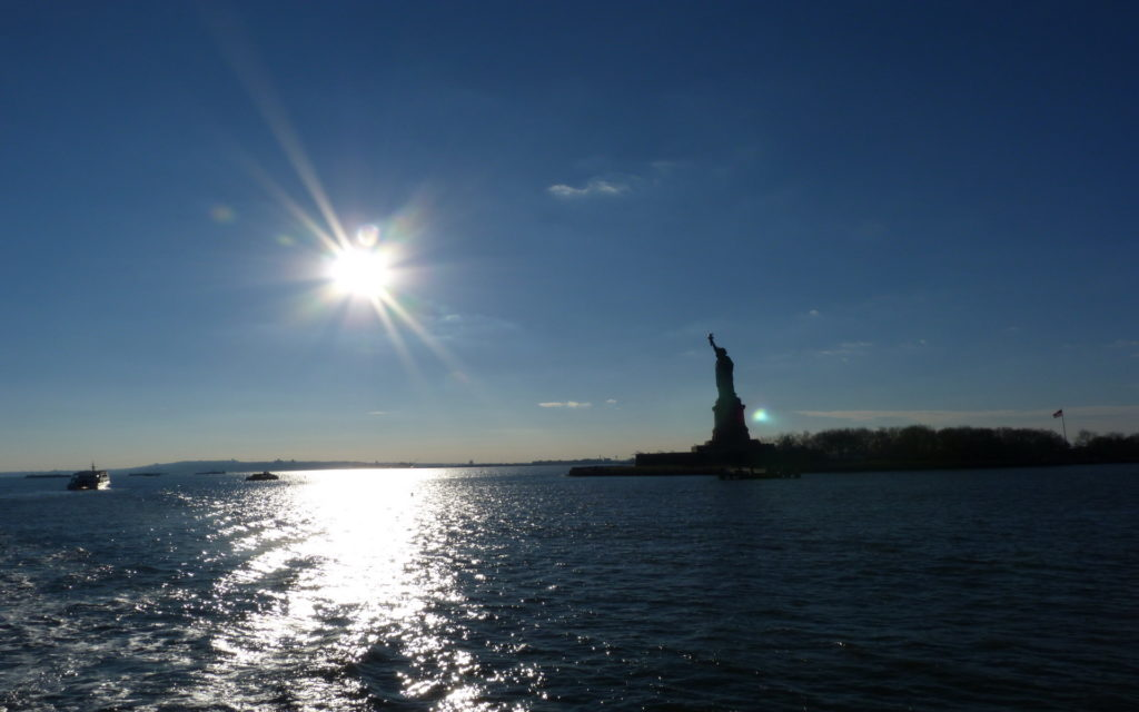 Statue Of Liberty Widescreen Wallpaper
