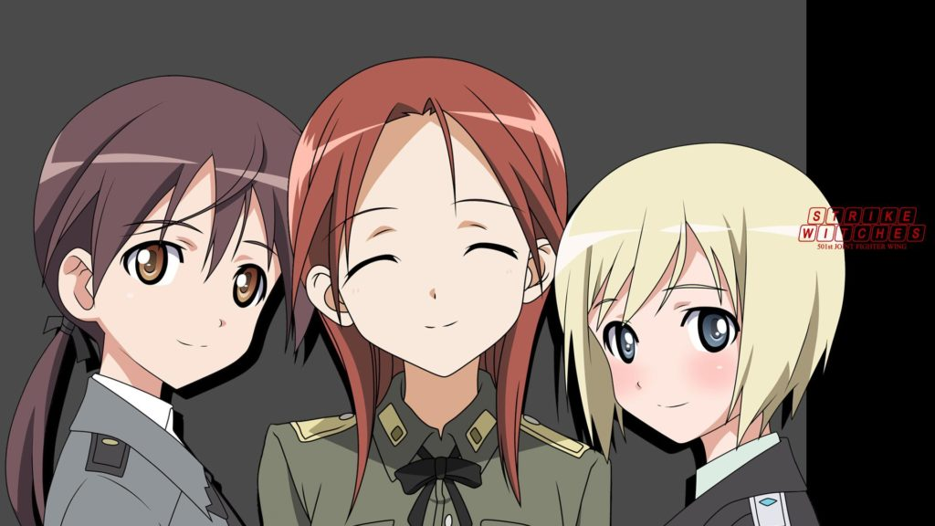 Strike Witches Full HD Wallpaper