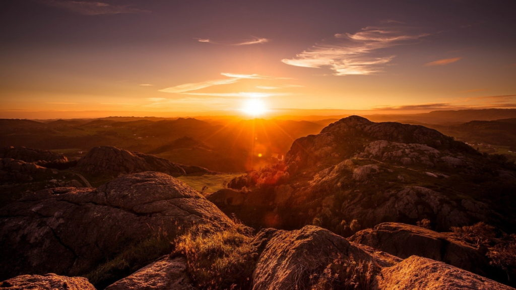 Sunrise Full HD Background