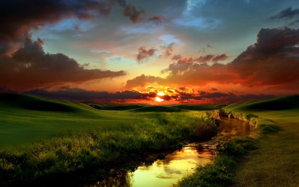 Sunset Widescreen Wallpaper