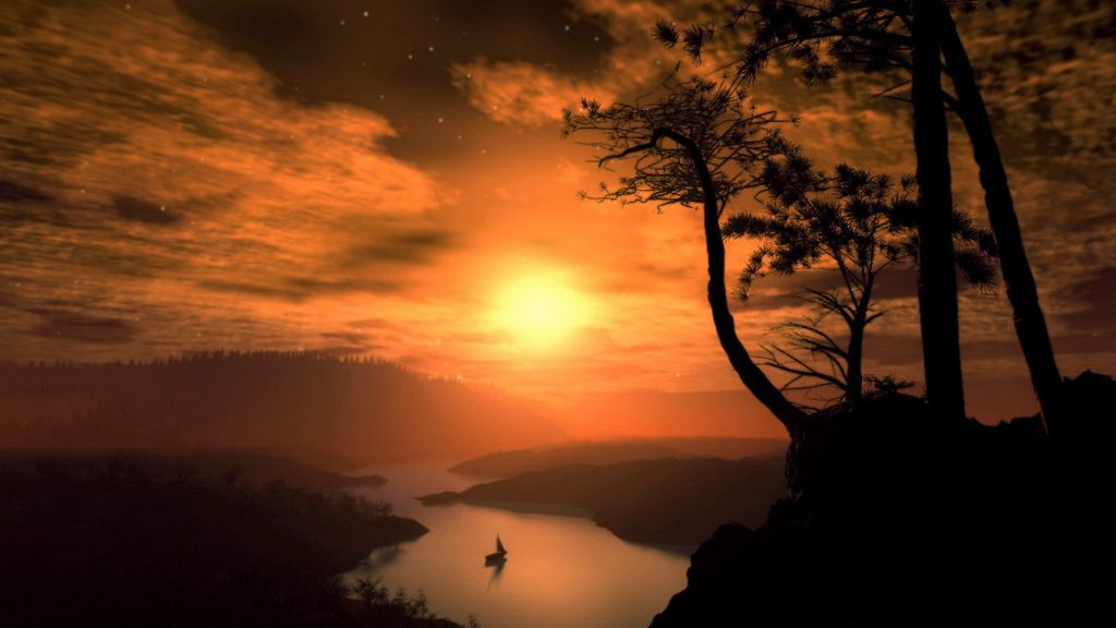 Sunset Full HD Wallpaper