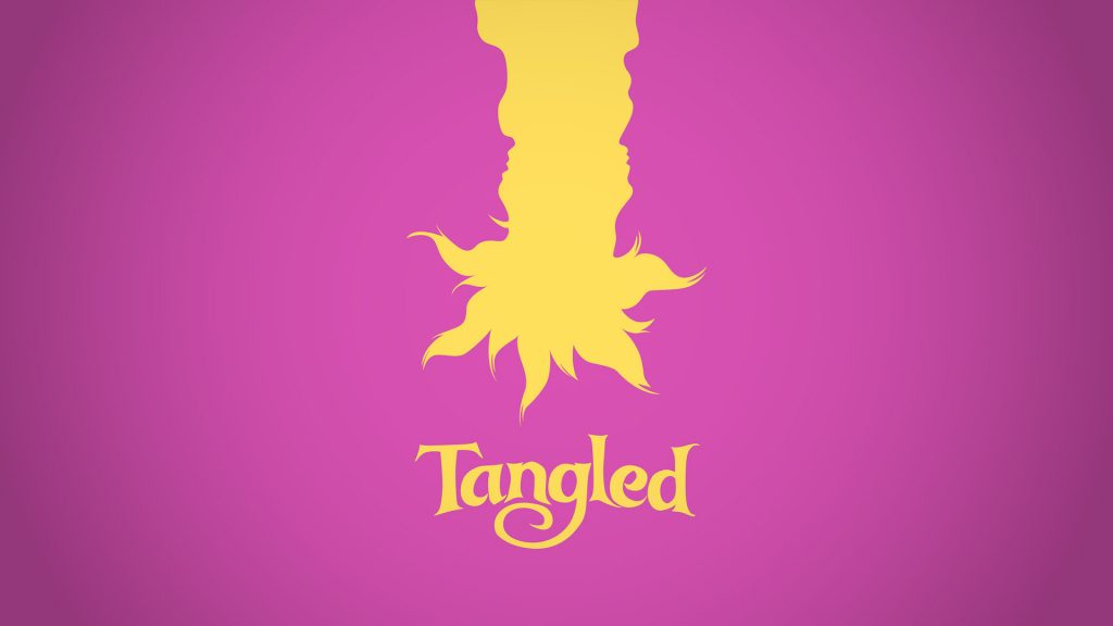 Tangled Full HD Wallpaper