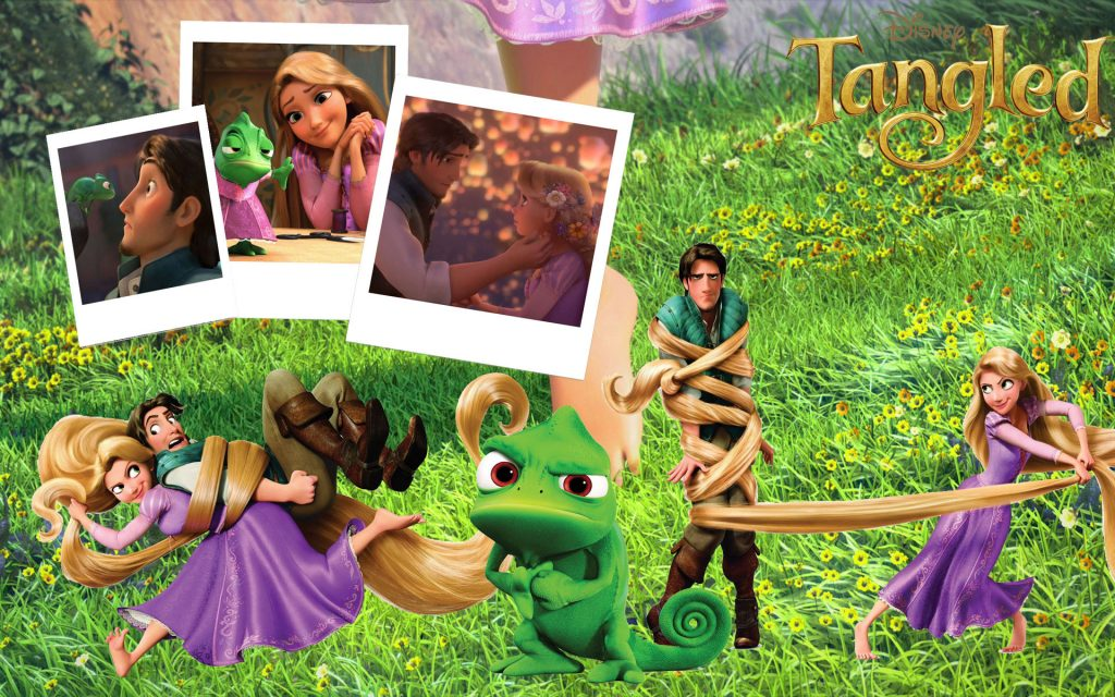 Tangled Widescreen Wallpaper