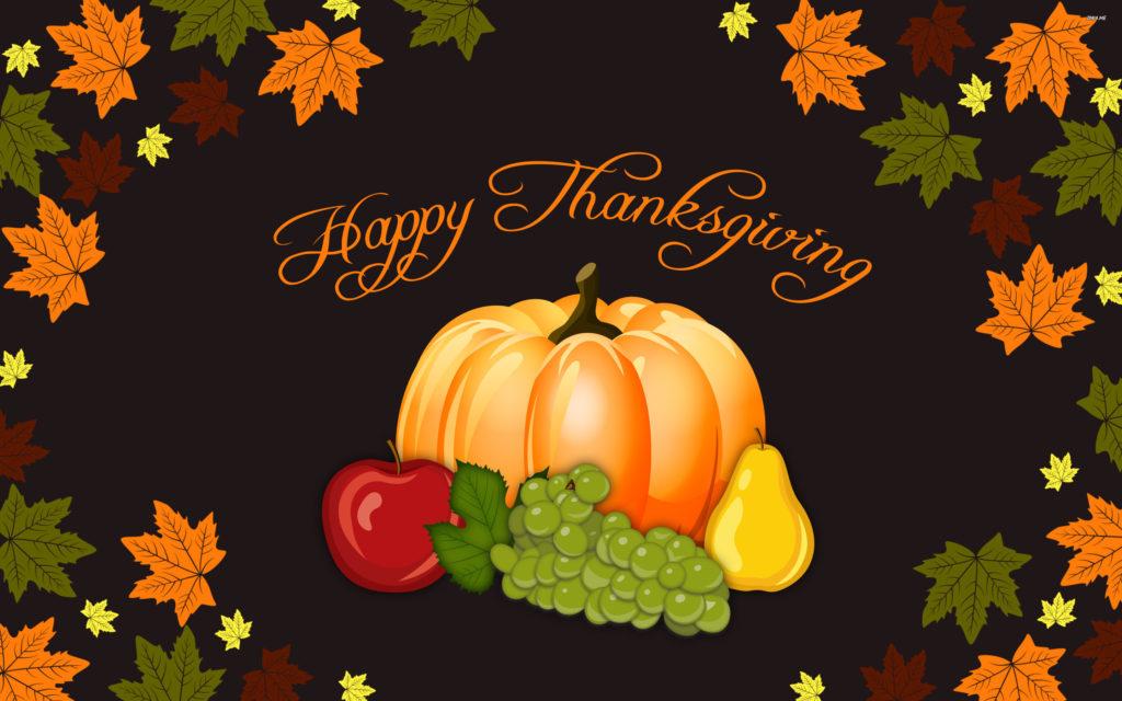 Thanksgiving Widescreen Background