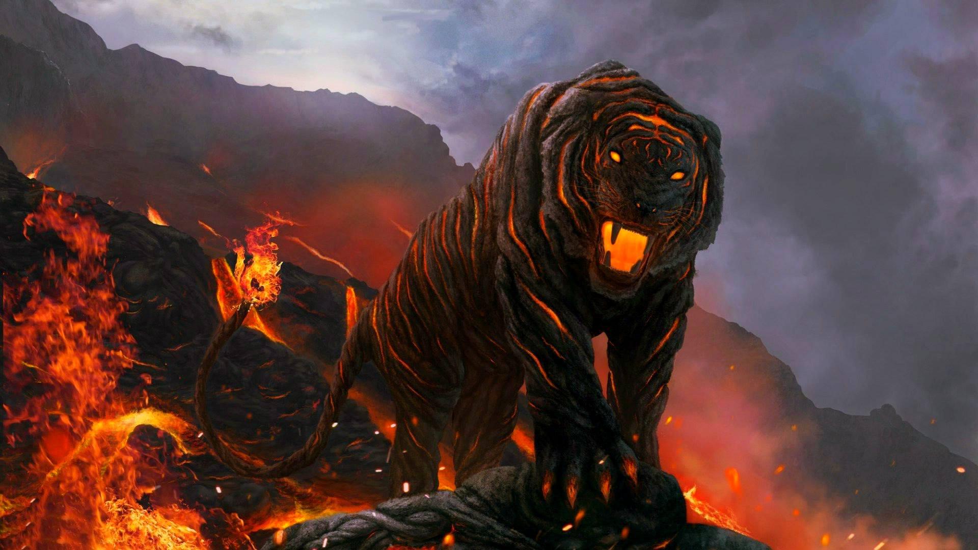 Desktop Hd Tiger Attack Pics: Tiger Wallpapers, Pictures, Images