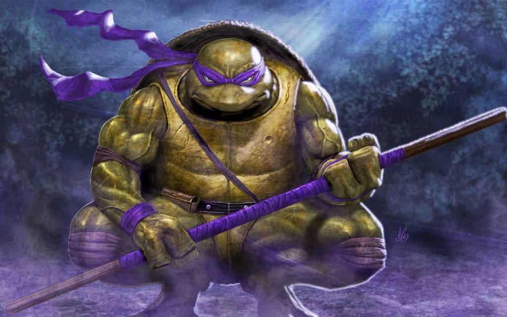 TMNT Widescreen Wallpaper