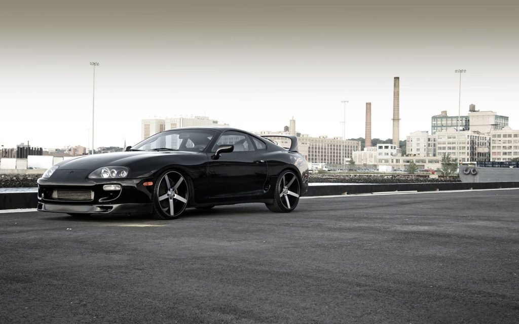 Toyota Supra Widescreen Wallpaper