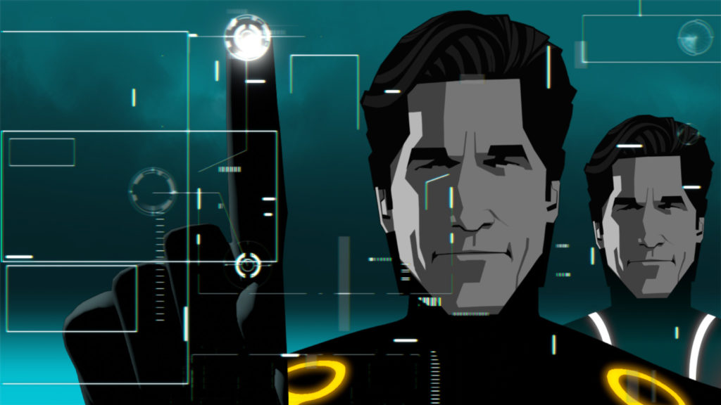 Tron: Uprising Dual Monitor Background