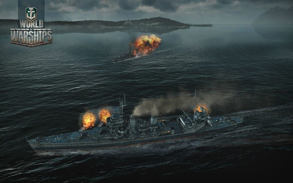 World Of Warships Widescreen Wallpaper