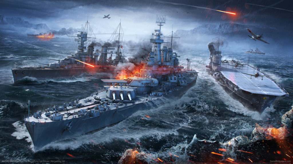 World Of Warships Full HD Wallpaper