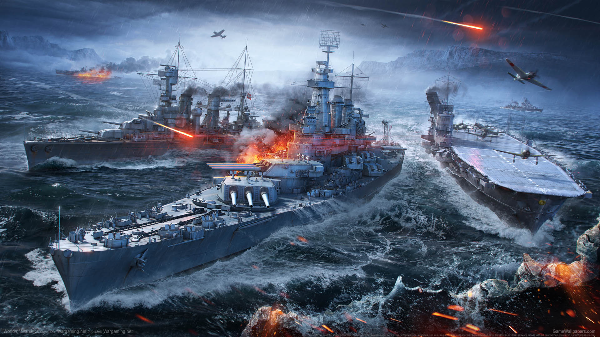 Telecharger world of warships blitz pc