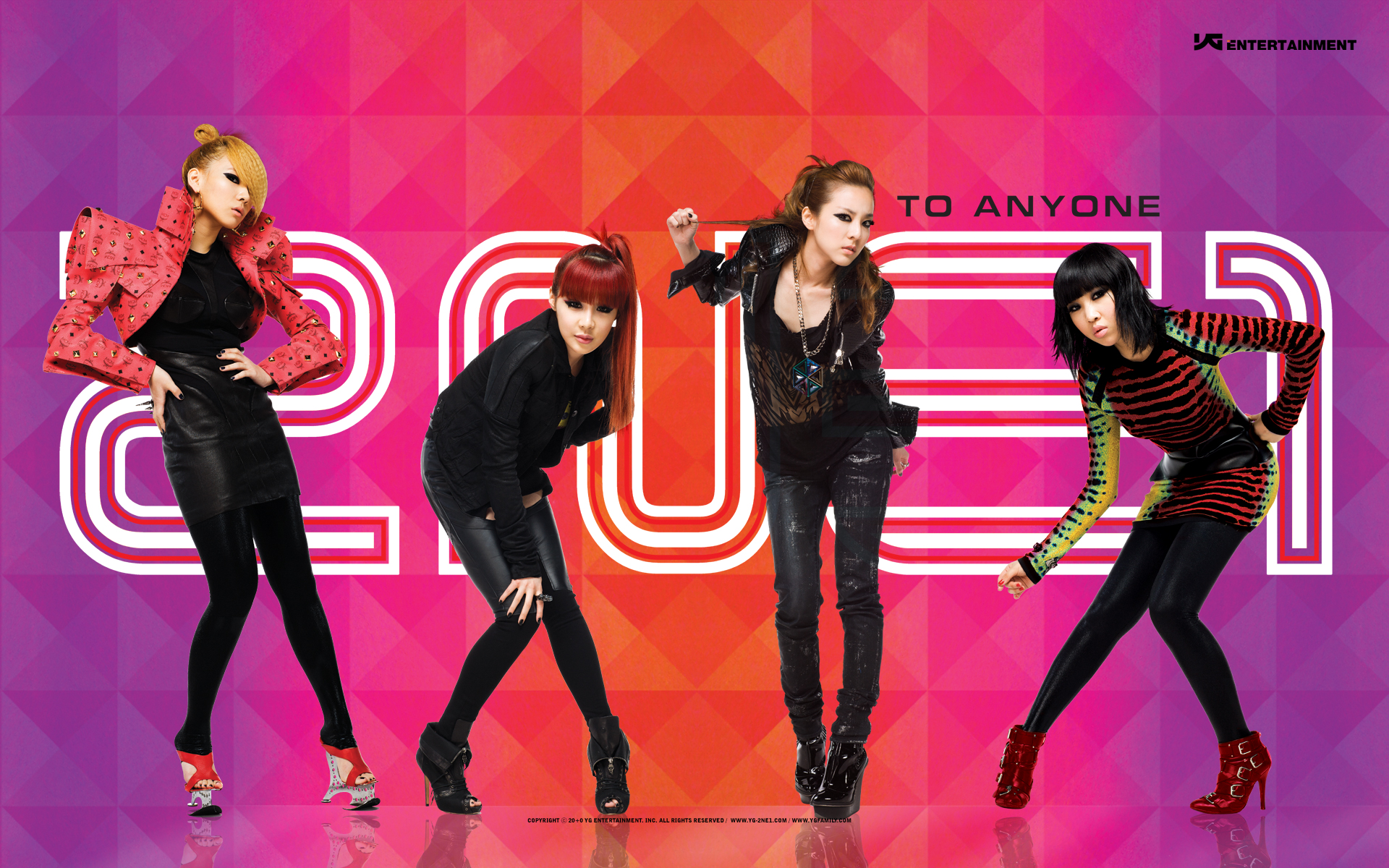 2ne1 Wallpaper Pinterest
