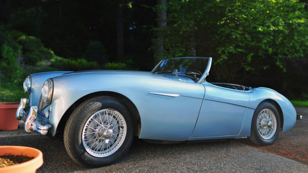 Austin Healey 100 Full HD Wallpaper