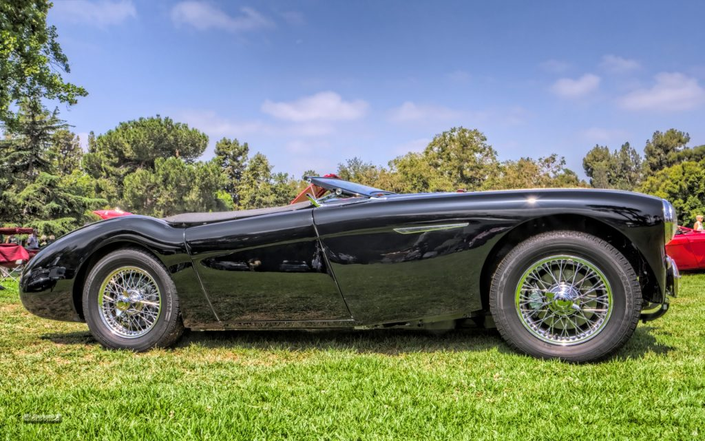 Austin Healey 100 Widescreen Wallpaper