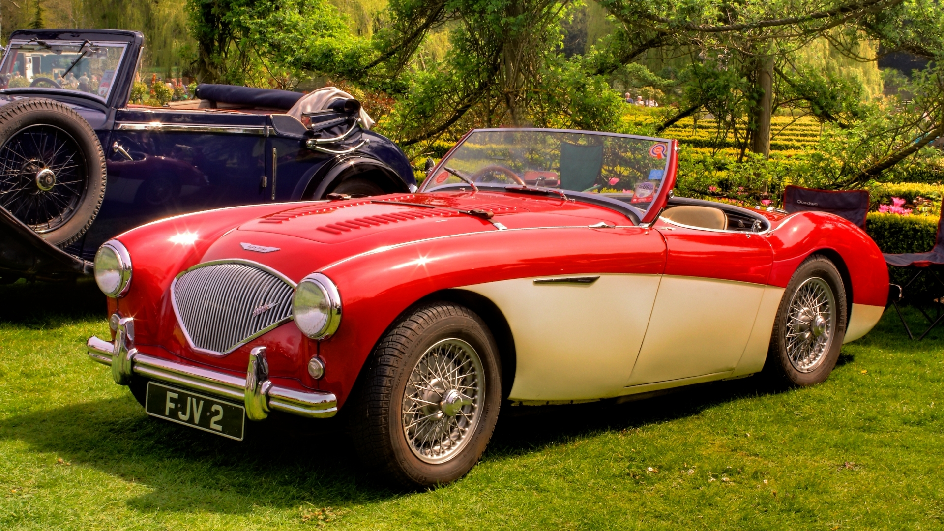 austin healey 100 wallpapers pictures images. Black Bedroom Furniture Sets. Home Design Ideas