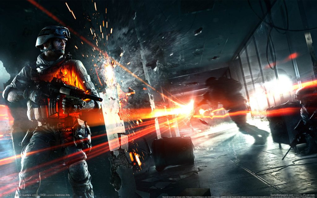 Battlefield 3 Widescreen Wallpaper
