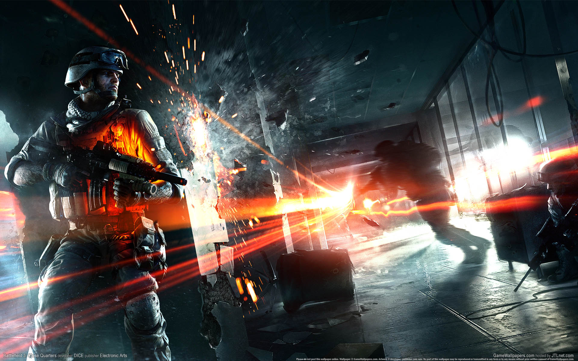 10 Best 4k Hd Gaming Wallpapers Full Hd 1920 1080 For Pc: Battlefield 3 Wallpapers, Pictures, Images