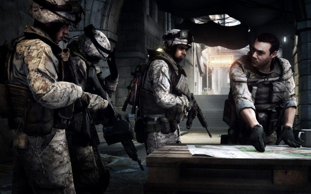 Battlefield 3 Widescreen Wallpaper