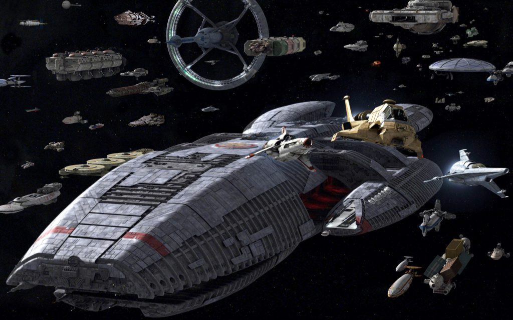 Battlestar Galactica (2003) Widescreen Wallpaper