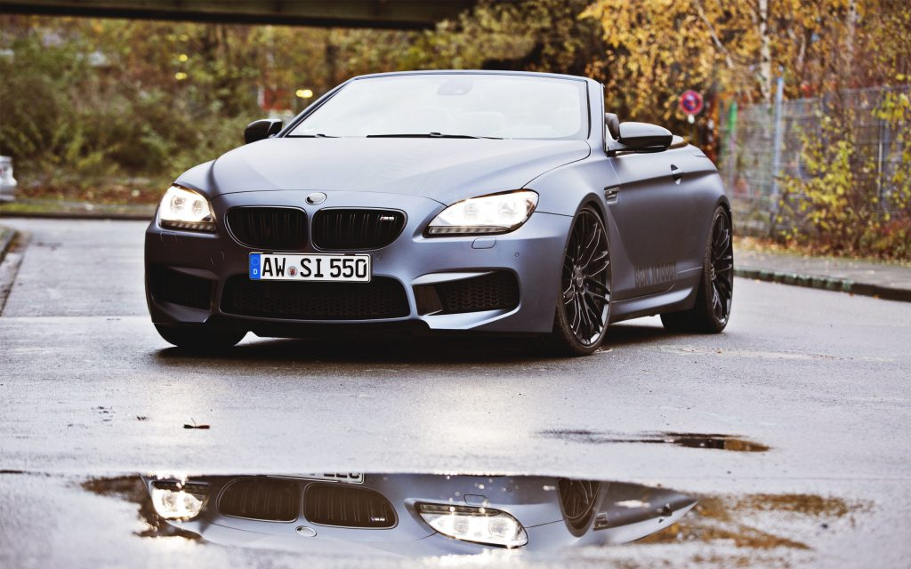 BMW M6 Widescreen Wallpaper