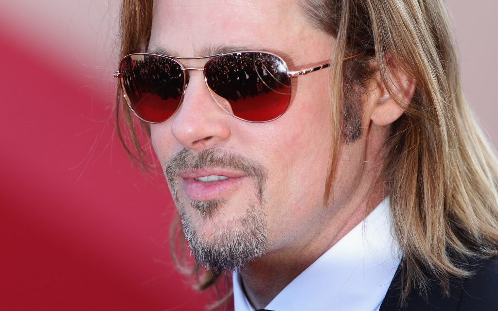 Brad Pitt Widescreen Background