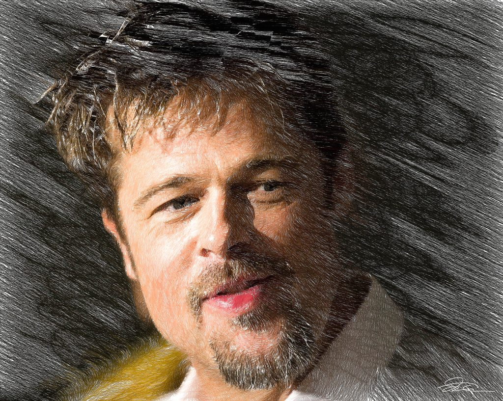 Brad Pitt Background