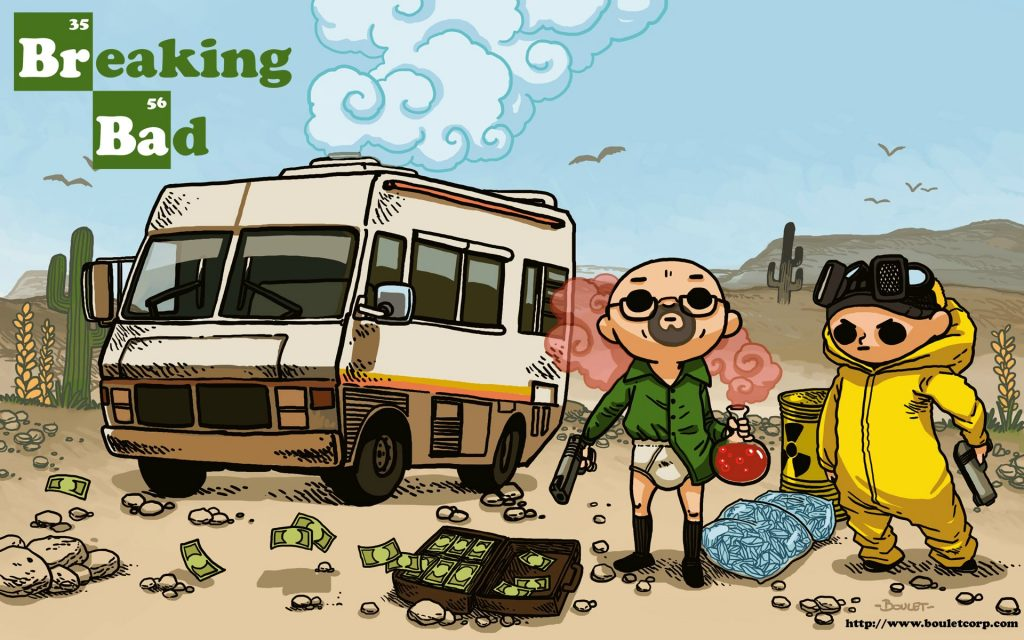 Breaking Bad HD Widescreen Background