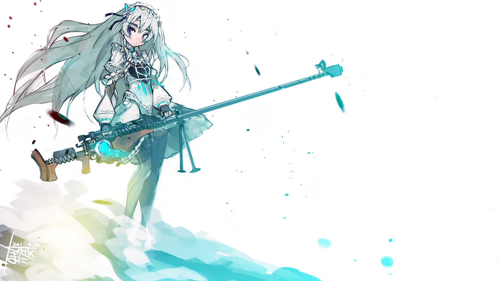 Chaika -The Coffin Princess- Full HD Wallpaper and