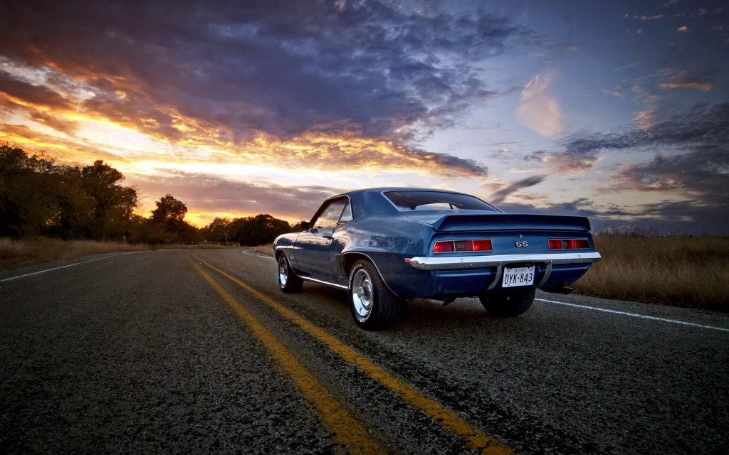Chevrolet Camaro SS Widescreen Wallpaper