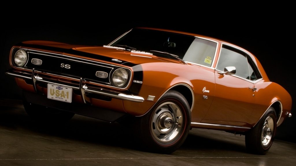 Chevrolet Camaro SS Full HD Wallpaper