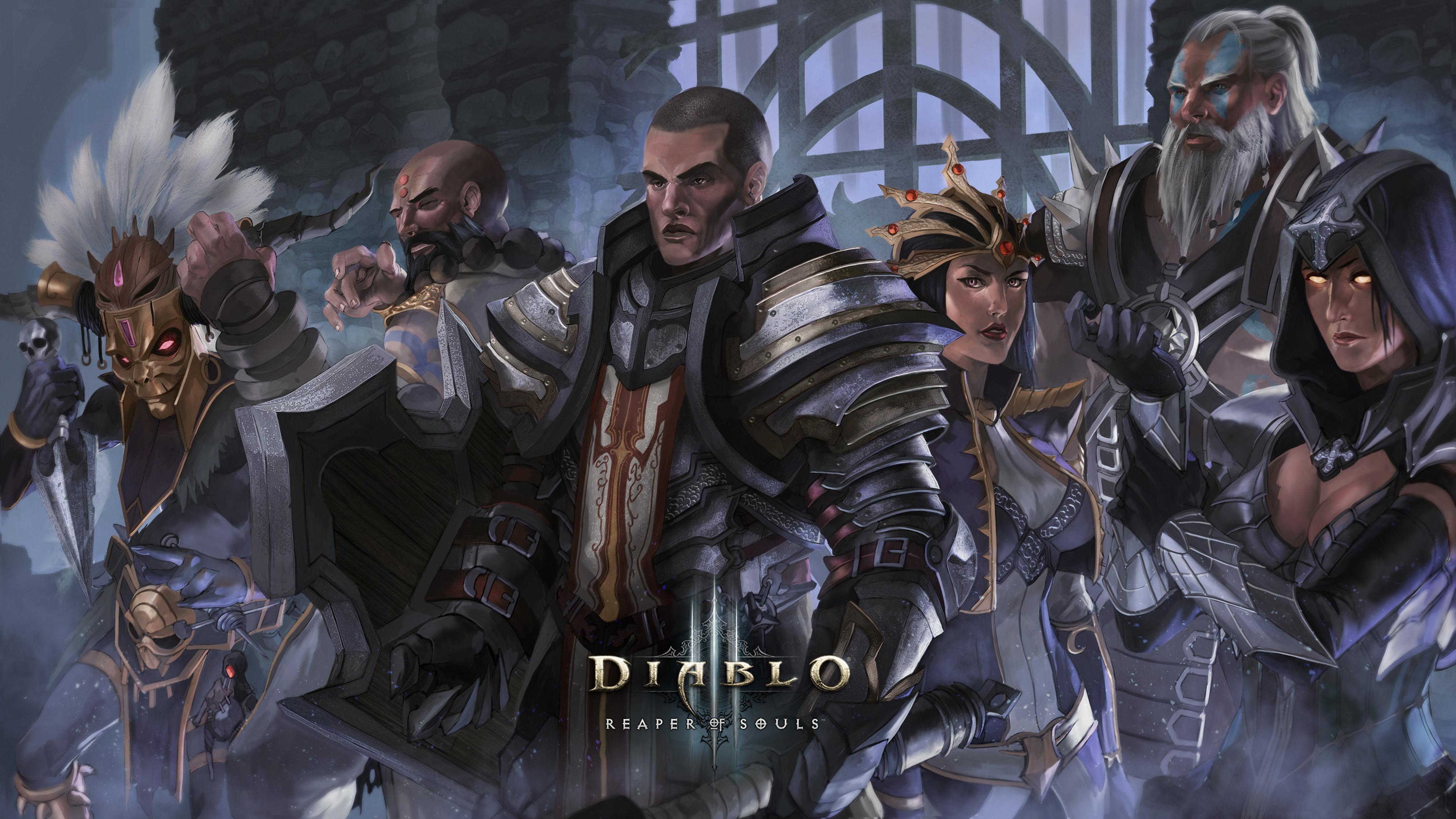Diablo 3 Reaper Of Souls Wallpapers: Diablo III: Reaper Of Souls Wallpapers, Pictures, Images