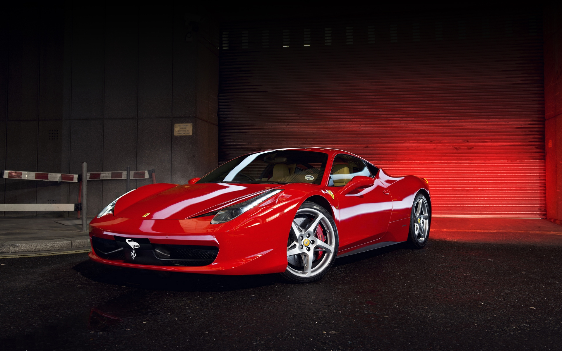 Ferrari 458 Widescreen Wallpaper