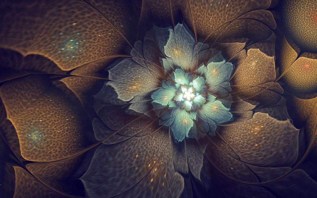 Fractal Widescreen Background