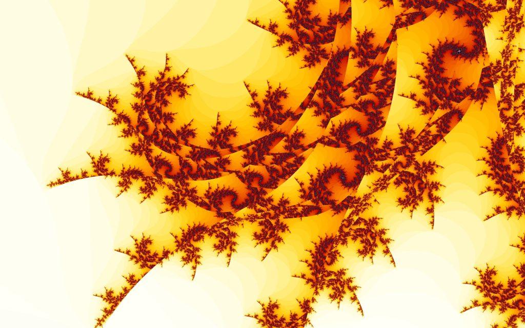 Fractal Widescreen Background
