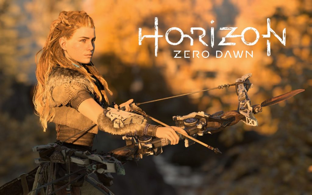 Horizon Zero Dawn Widescreen Wallpaper