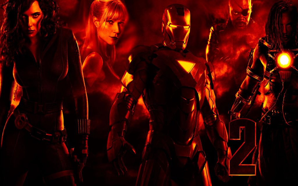 Iron Man 2 Widescreen Wallpaper