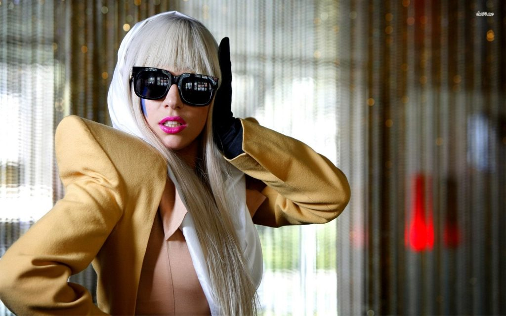Lady Gaga Widescreen Wallpaper