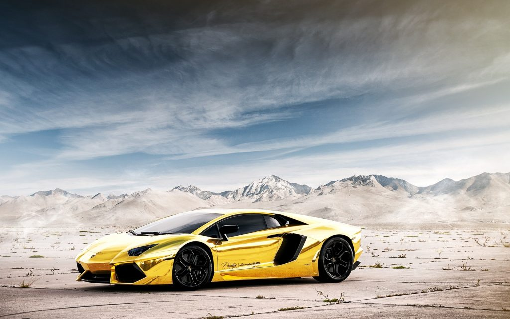 Lamborghini Widescreen Wallpaper