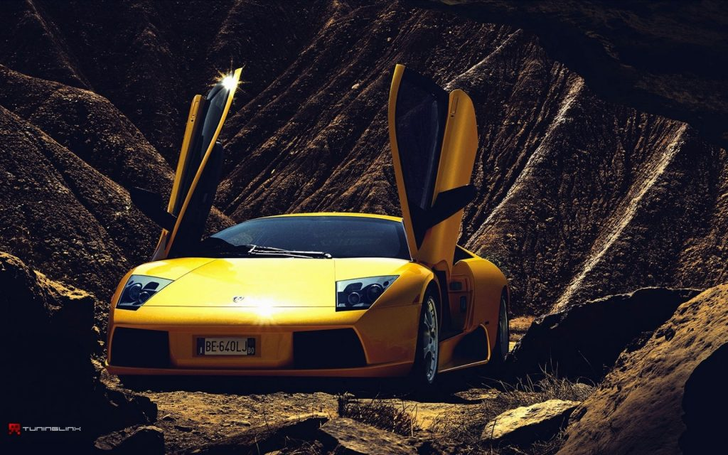Lamborghini Murciélago Widescreen Wallpaper