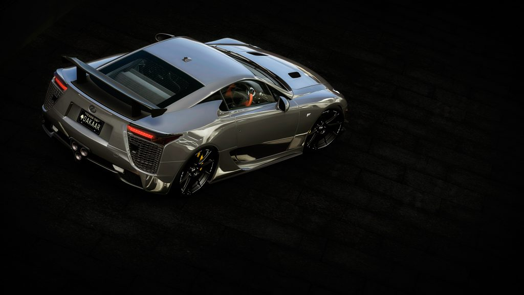 Lexus LFA 4K UHD Wallpaper