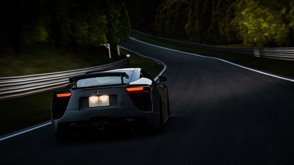 Lexus LFA Full HD Wallpaper