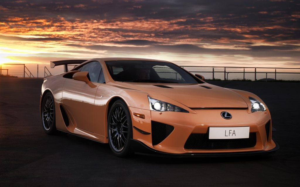 Lexus LFA Widescreen Wallpaper