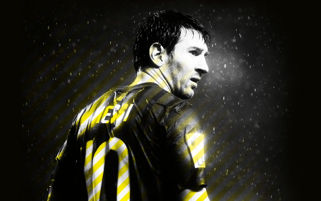 Lionel Messi Widescreen Background