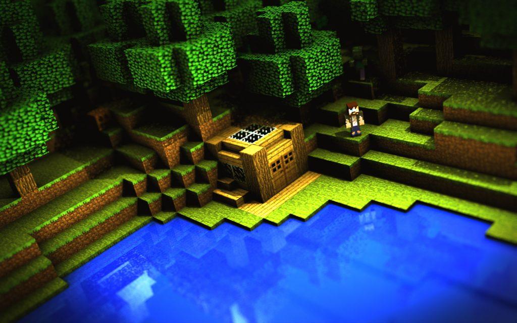 Minecraft Widescreen Background