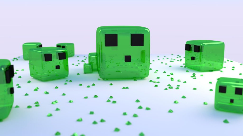 Minecraft Full HD Background