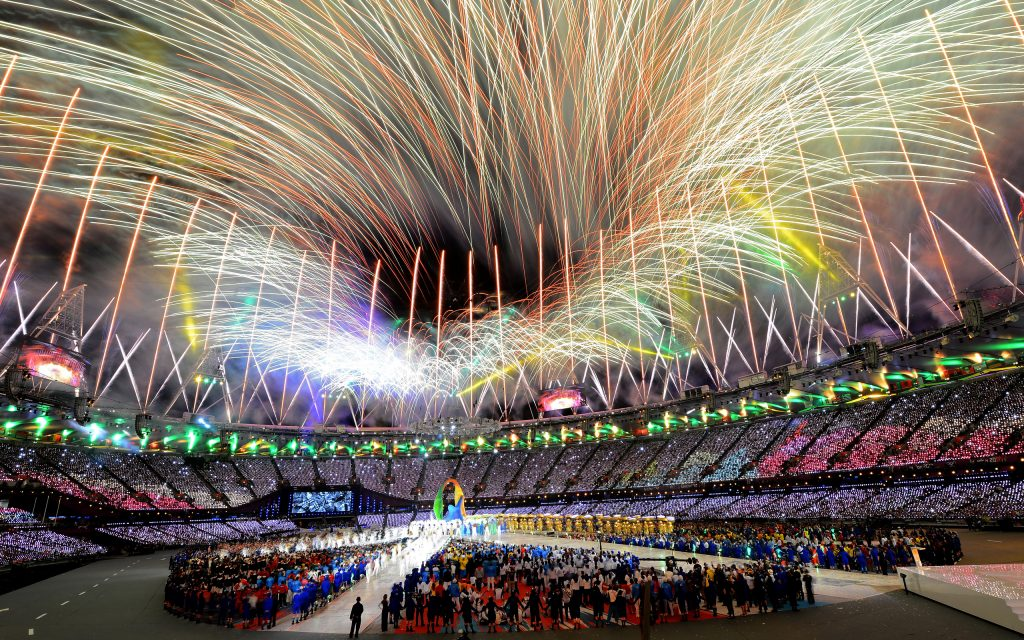 Olympic Games Widescreen Background