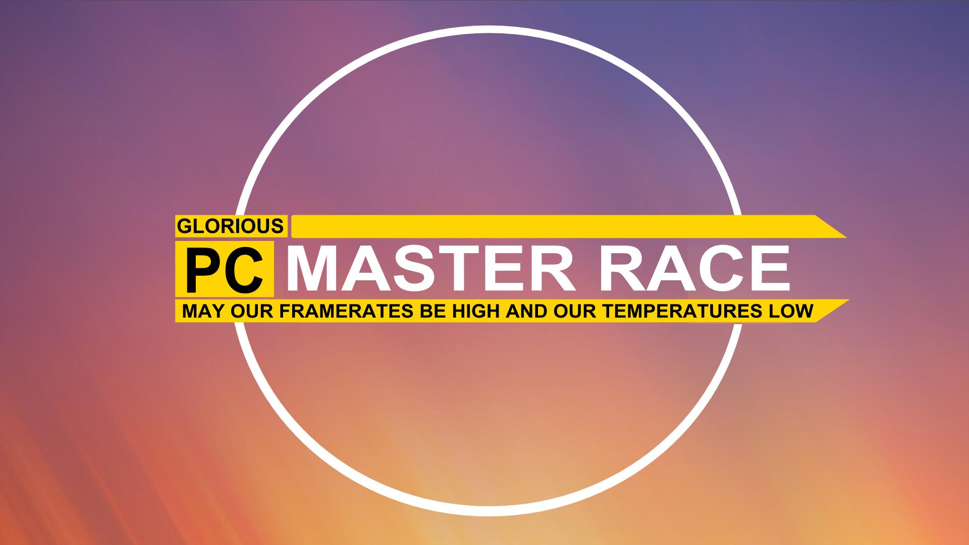 Reddit Pc Master Race Build
