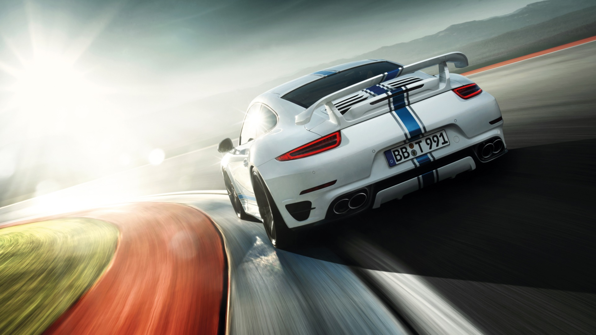 porsche 911 turbo full hd wallpaper